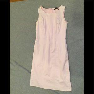 Baby pink Brooks Brothers sheath dress